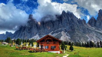 Terrassen Franse Alpen