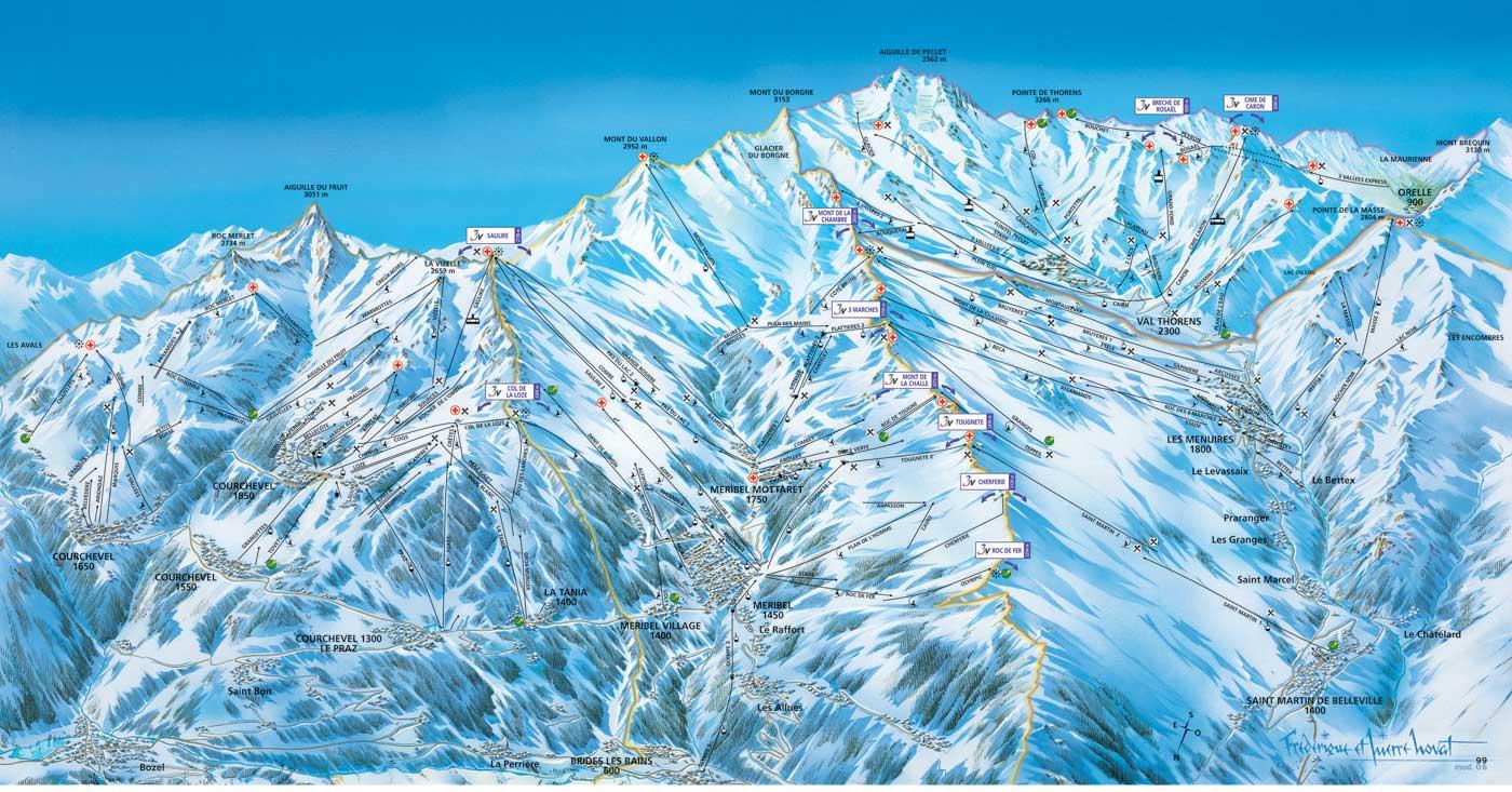 Skiën Franse Alpen